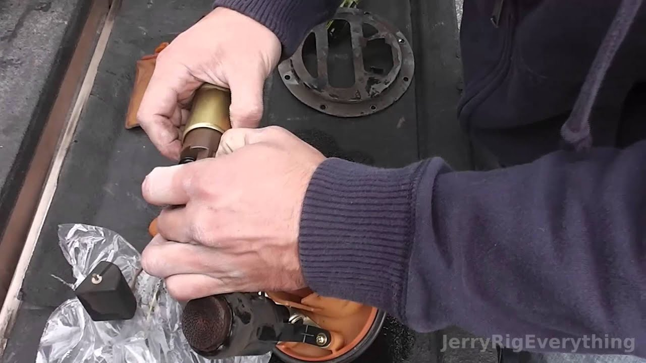 Toyota Solara Fuel Pump Replacement