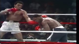 """The greatest"" Muhammad Ali vs. ""Smoking"" Joe Frazier III - 1975"