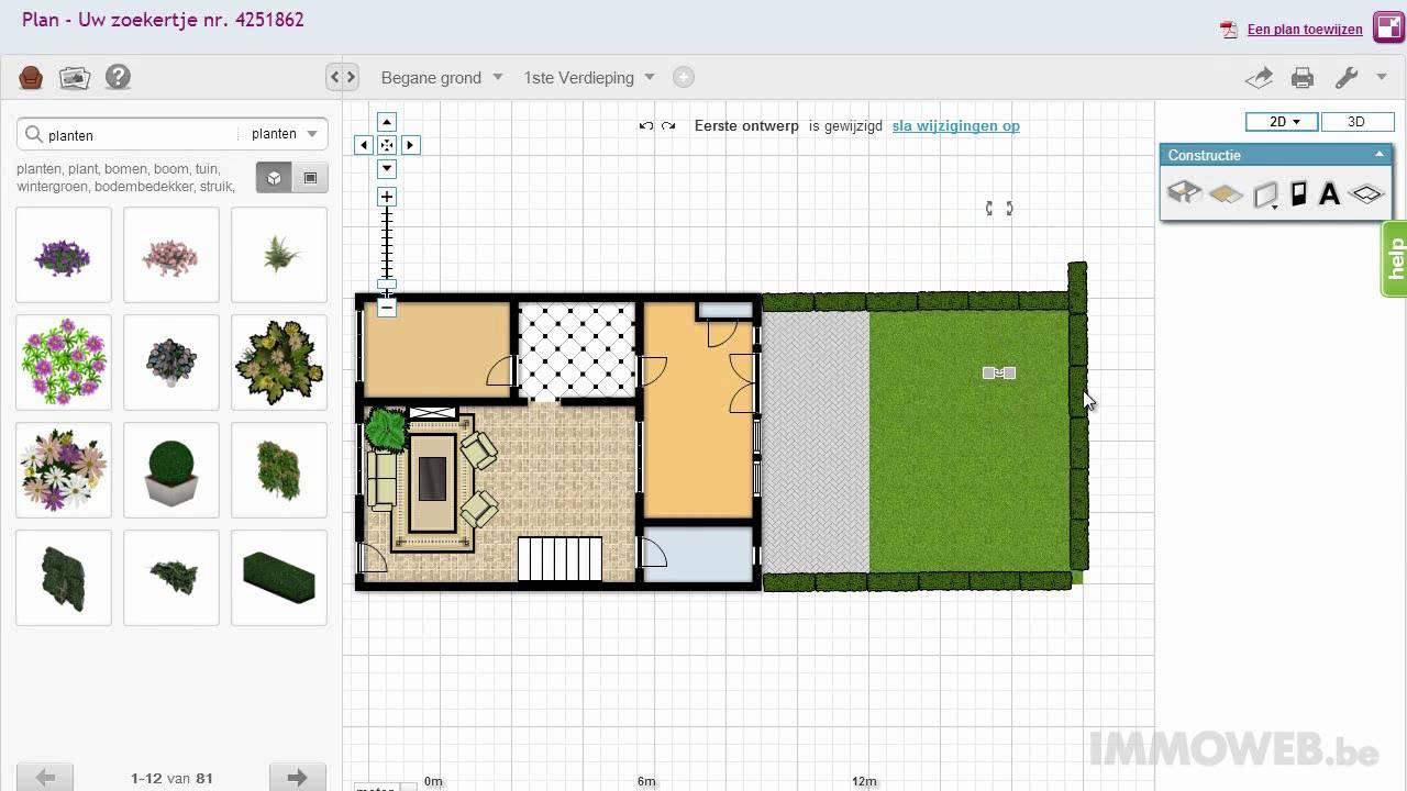 Video 3 interactieve plannen hoe voeg je een tuin toe youtube - Hoe een heuvelachtige tuin te plannen ...