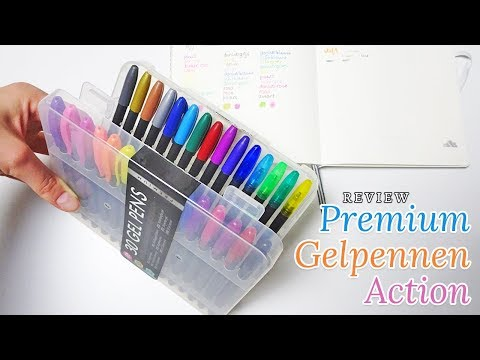 Review premium gelpennen van Action 🖍 | Nouk-san