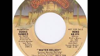 70s Girl Group Soul Winter Melody by Donna Summer