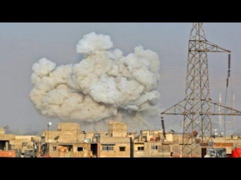 دفعة أولى من عناصر تنظيم -الدولة الإسلامية- تغادر معقلها في جنوب دمشق
