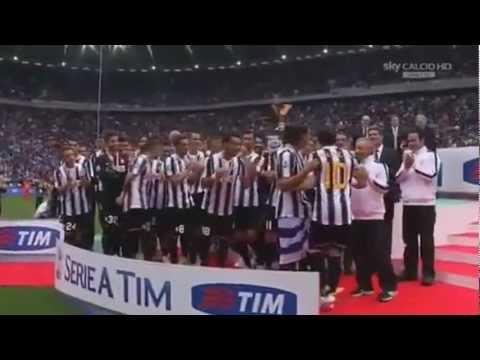Juventus Campione d'Italia 2012 – Il video della premiazione ᴴᴰ