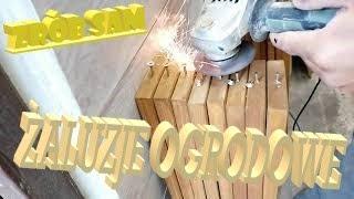Rolety żaluzje drewniane jak zrobić #2 how to make wooden blinds