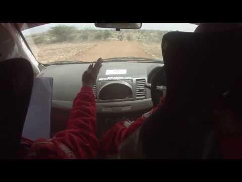 Coimbatore Rally 2013. Samir Thapar (JCT) - 3rd Stage. EVO10