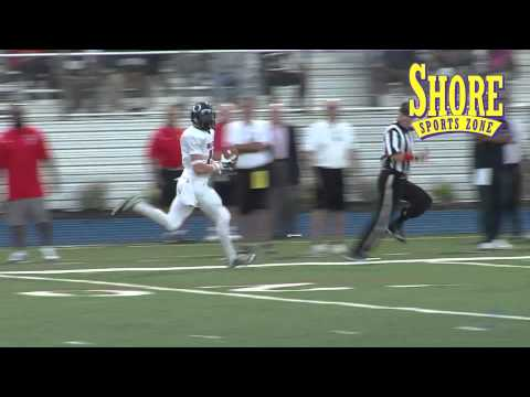 Matt Castronuova 102 yard kickoff return in Phil Simms North South Game