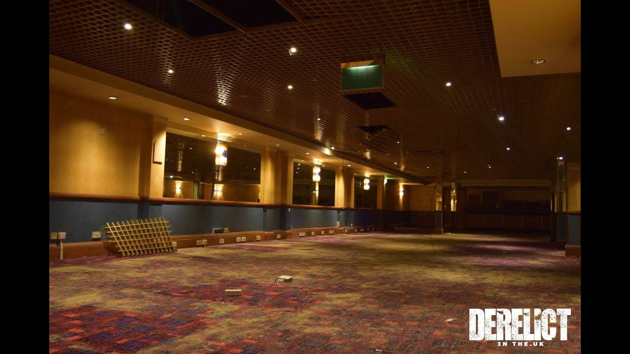 Exploring an abandoned Casino and Ballroom (POWER STILL ON) - YouTube