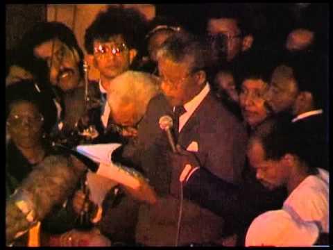 Nelson Mandela's Speech.