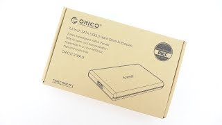 ORICO USB 3.0 External Hard Drive Enclosure Review!