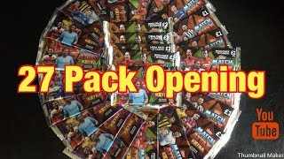 TOPPS MATCH ATTAX EXTRA 27 PACK OPENING 2018/19 | MEGA OPENING