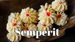 Biskut Samperit/ Custard Cookies