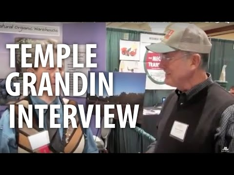 Temple Grandin Interview - The Dirt Doctor