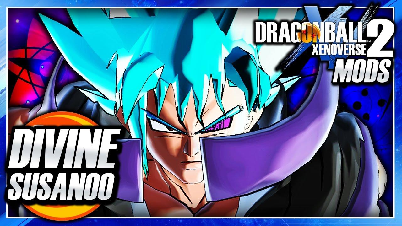 Fusion 2017 Black >> Dragon Ball Xenoverse 2 PC: Gosuke w/ Divine Susanoo Transformation DLC Mod Gameplay - YouTube