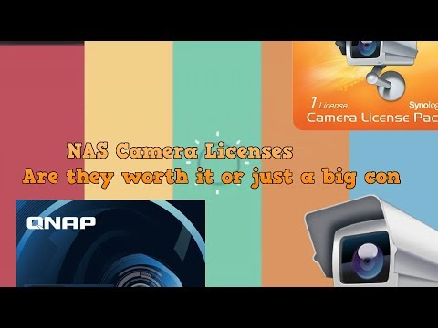 NAS Camera Licenses - Are they worth it or just a Big Con?