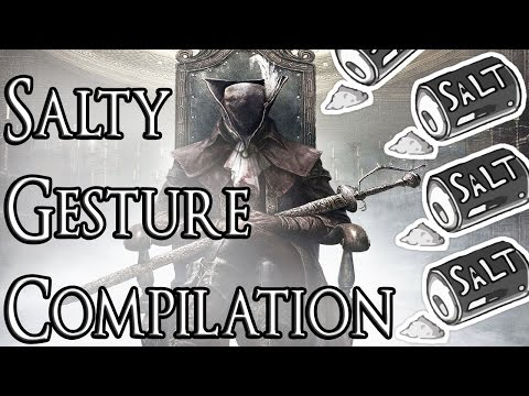 how to use gesture bloodborne