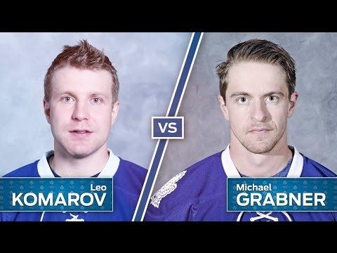 Komarov vs. Grabner In The Ultimate Trick Shot Challenge
