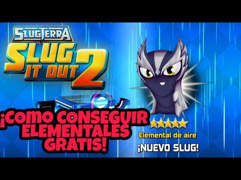 ¡COMO CONSEGUIR ELEMENTALES GRATIS!   ACTUALIZACIÓN DE SLUGTERRA SLUG IT OUT 2   SPLASH