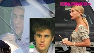 Justin Bieber & Hailey Visit The Dermatologist's Office To Help With Justin's Acne In Beverly Hills