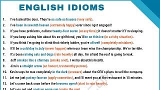 What Is An Idiom? 90 Common English Idioms Frequently Used in Daily English Conversations