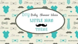 Pinterest DIY Baby Shower Ideas for a Boy | Part 2 of 2
