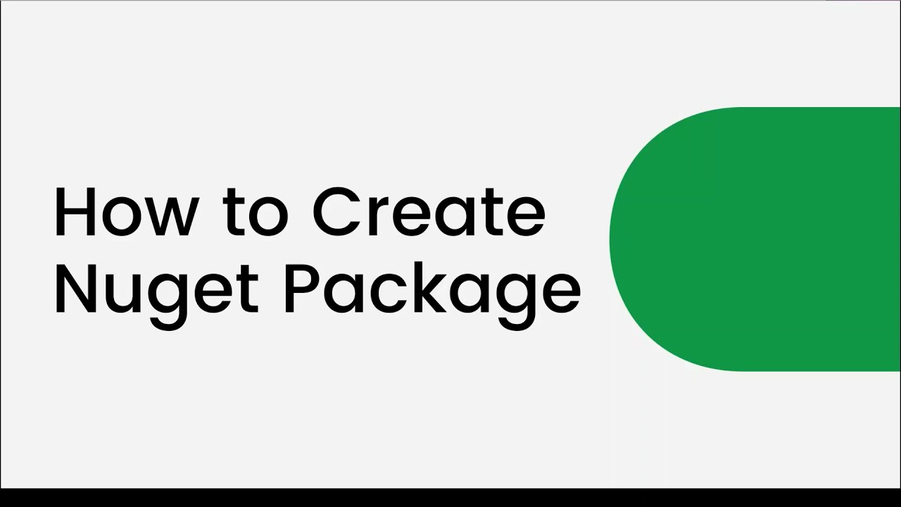 Azure DevOps: How to Create NuGet Packages ?