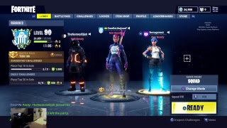 VBUCKS / BATTLE ROYALE STARTER PACK GIVEAWAY! FORTNITE BATTLE ROYALE LIVE!! SmellsLikeJosef