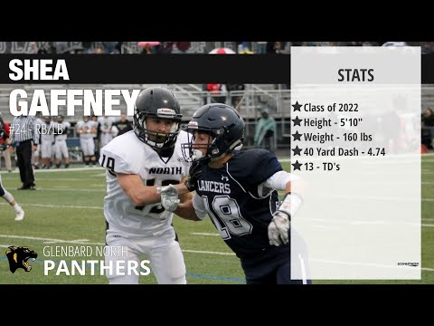 Shea Gaffney 2018 Football Highlights - Glenbard North High School Class 2022