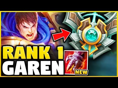 WTF? THE *RANK 1* GAREN HAS A 4.3 KDA IN MASTERS ABUSING THIS! HOW DID HE DO IT? - League of Legends