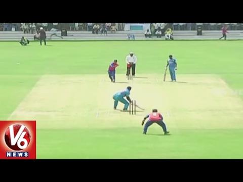 Blind Cricket World T20 | India Team Reaches Semi Finals | V6 News