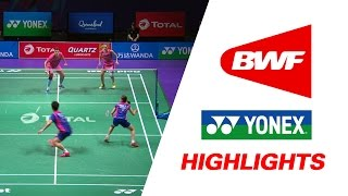 total bwf sudirman cup 2017   badminton day 1 grp 1b kor vs rus highlights