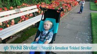 gb Pockit Stroller - The World's Smallest Folded Stroller