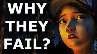 Why Exactly Did Telltale Games FAIL As a Studio?