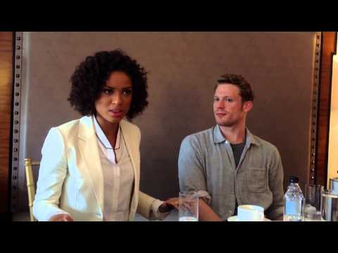 """Gugu and Sam At The Roundtable For """"Belle"""""""
