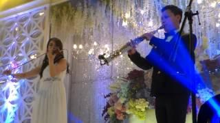 Brian Harefa Ft Kezia Violin - First Love (Utada Hikaru)
