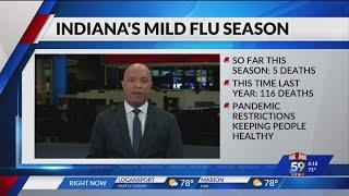 Looking at Indiana's mild flu season