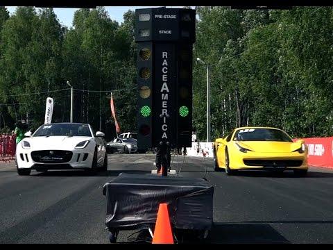 Jaguar F-Type R vs Audi R8 GT vs Ferrari 458 Italia vs BMW M6 F13