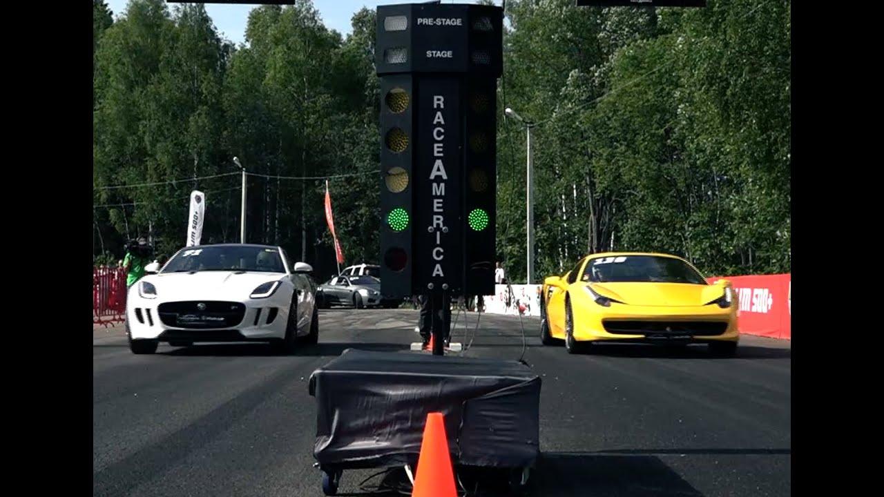 Jaguar F Type R Vs Audi R8 Gt Vs Ferrari 458 Italia Vs Bmw M6 F13
