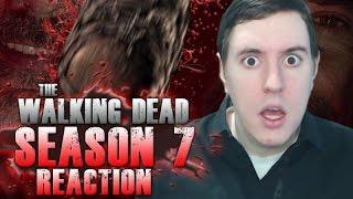 The Walking Dead Season 7 Premiere Negan Kill Reaction!
