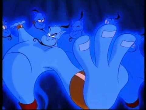 Aladdin promo [Disney Channel Hungary]