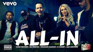 Chris Record - ALL-IN POKER RAP ft. Mic Known, Swagger Dagger, G-Money & Sam Servidio