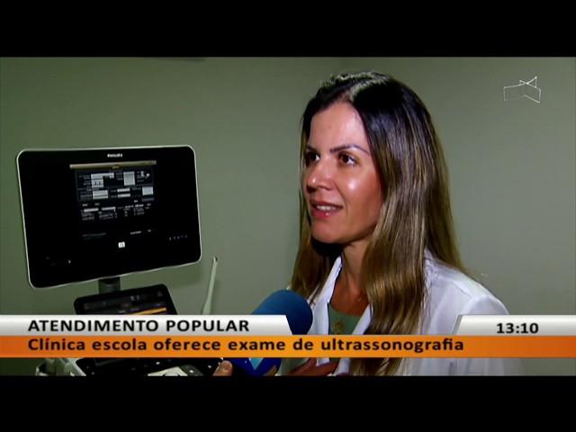 JL - Clínica escola oferece exame de ultrassonografia