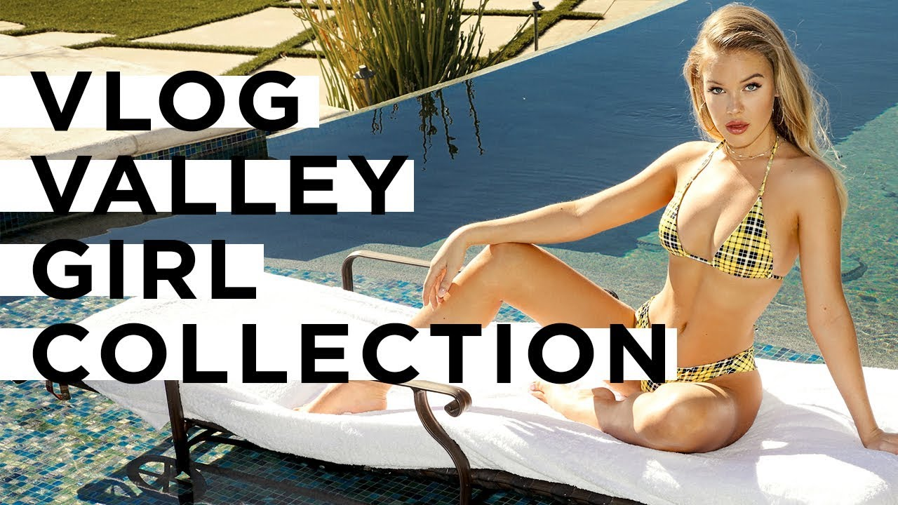 VLOG: Behind The Scenes of our Valley Girl Shoot