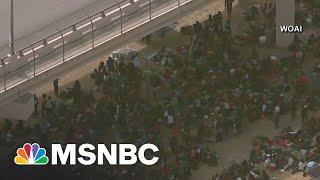 More Than 10,000 Migrants Gathered Under Texas Bridge
