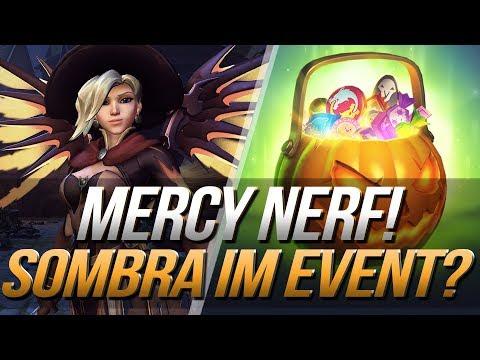 MERCY NERF | Sombra im Halloween Event? | Overwatch PTR News | Deutsch