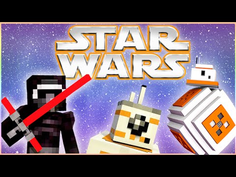 Star Wars - THE FORCE AWAKENS! (Minecraft Roleplay) #1