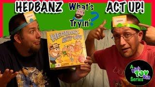 HEDBANZ ACT UP GAME!   What's Ryan Tryin'?   Bin's Toy Bin