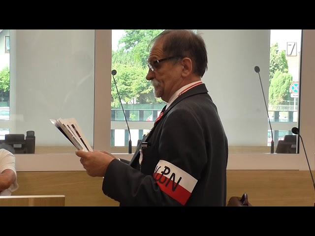 Rozprawa przeciwko Zygmuntowi Miernikowi oskarżonemu o pobicie policjanta