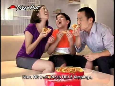 NumHit จาก Pizza Hut ชุดนกแก้ว