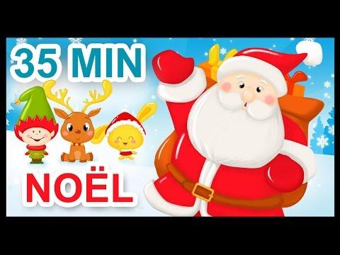 Chansons de Noël - Comptines - Dessins animés pour enfants - 35 min
