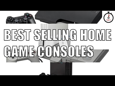 Top 5 best selling home game consoles